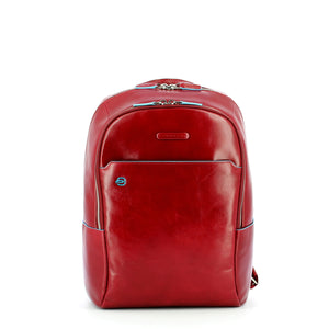 Piquadro - Computer Backpack Blue Square Special 14.0 - CA3214B2 - ROSSO