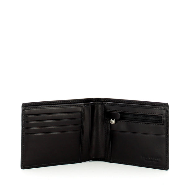 The Bridge - Slim Wallet Story with coin pocket - 01433901 - NERO/ABB./PALLA