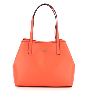 Guess - Large Tote Bag Vikky with pochette - HWVS6995240 - CORAL