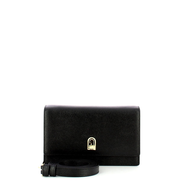 Furla - Mini 1927 Crossbody Purse - EAV6ACOARE000 - NERO