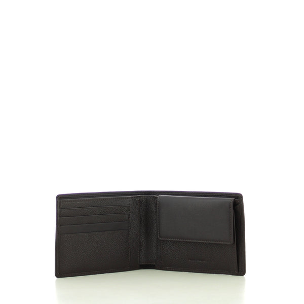 Piquadro - Men Wallet with Coin Pouch - PU257X1 - MARRONE