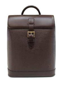 Louis Vuitton Special Order Brown Epi Leather Soho Backpack