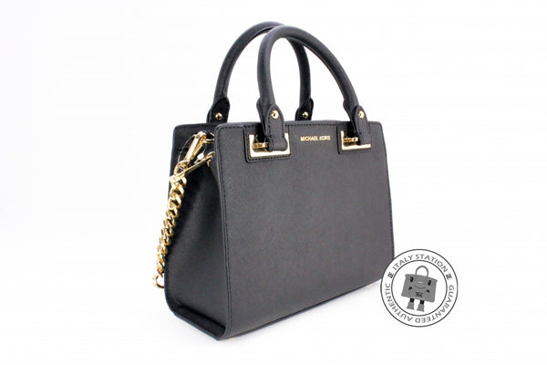 michael-kors-hgqnsl-quinn-small-saffiano-leather-satchel-calfskin-shoulder-bags-ghw-IS033424