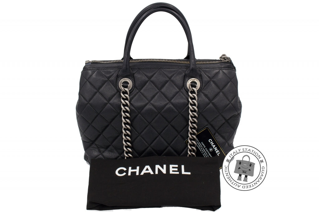 Chanel A92748 Y10466 New Large Chanel Boy Chained Tote Bag Handle ... 2e58ae6098daa