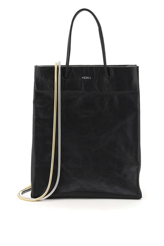 medea-medea-busted-tall-leather-tote-211361ABS000001-BLACK