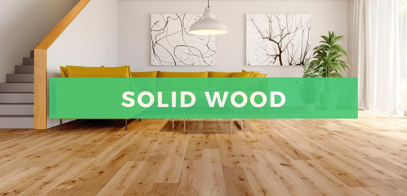 Solid wood flooring banner