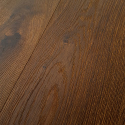Marrone Oak lightly Brushed & UV Oiled