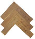 Fumed Oak 150 x 4/18 x 600mm Brushed & Oiled Parquet Flooring