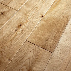 18/4 Lacquered Oak 125mm - Floors 4 You Online