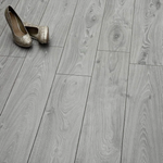 Washington Grey Oak Laminate Flooring - SAMPLE