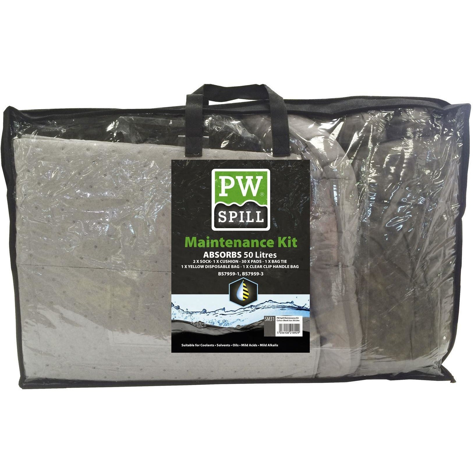 Portwest PW Spill 50 Litre Maintenance Kit  SM31