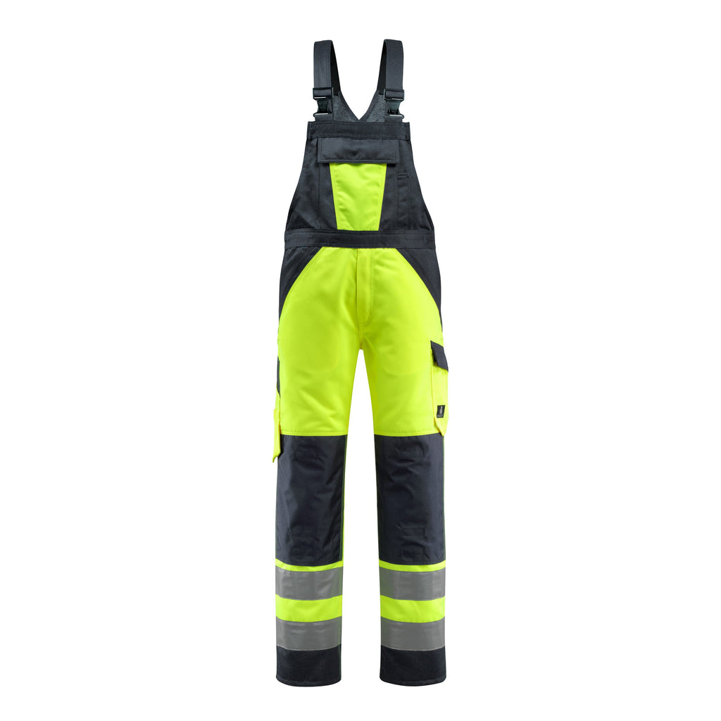 Mascot Gosford Safe Light Bib & Brace With Kneepad Pockets