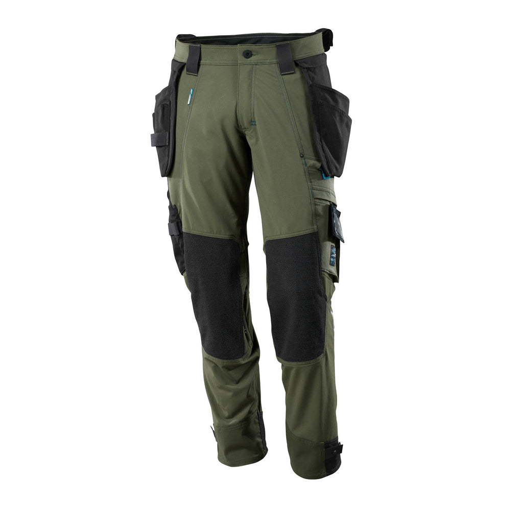 Mascot Advanced Trousers With Kneepad Pockets And Holster Pockets