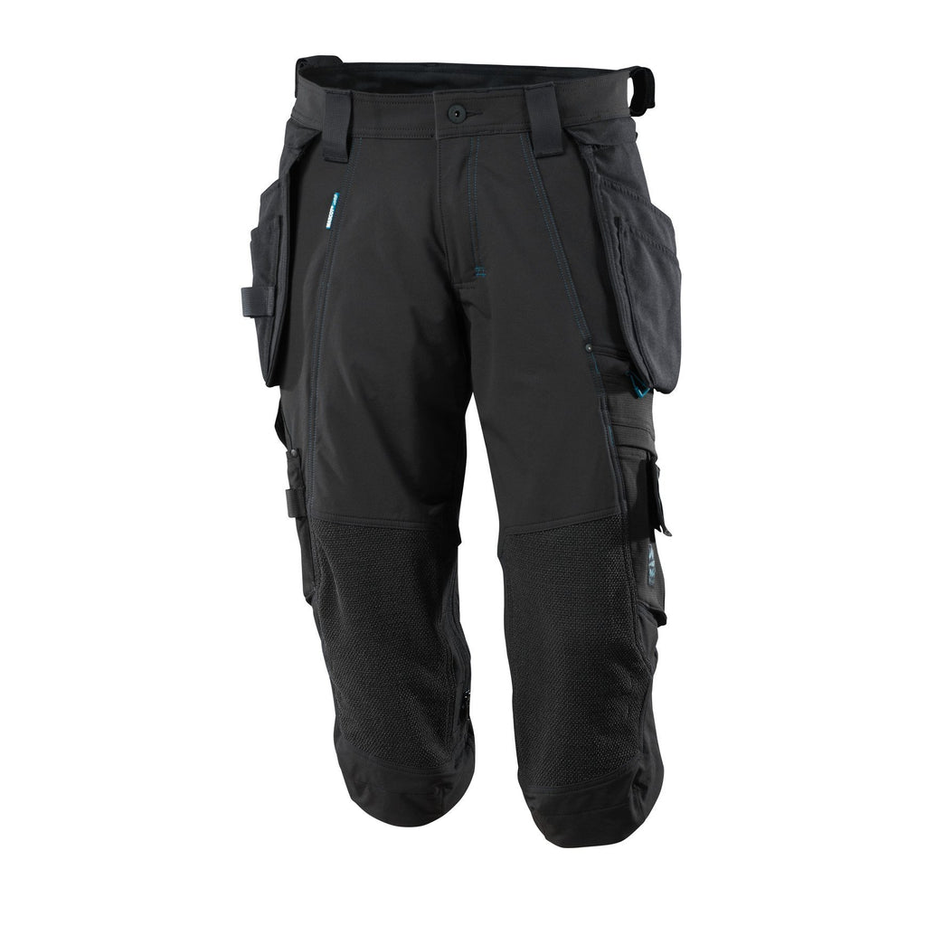 Mascot Advanced ¾ Length Trousers With Kneepad Pockets And Holster Pockets