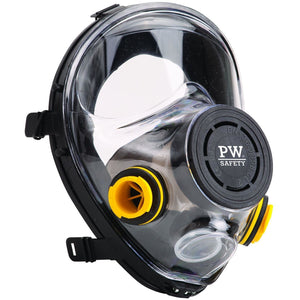 Portwest Vienna Full Face Mask Black One Size  P500