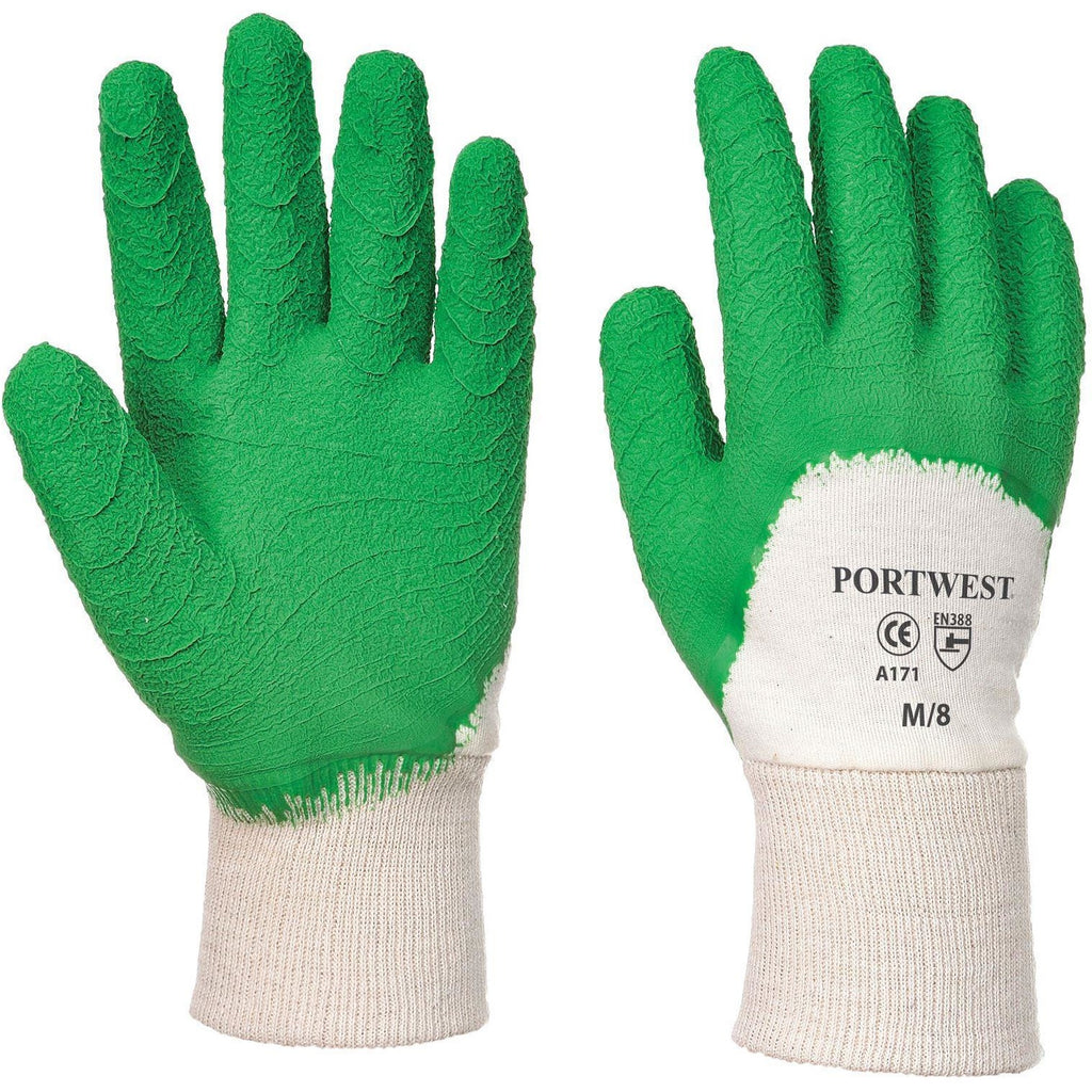 Portwest Latex Open Back Crinkle Glove A171