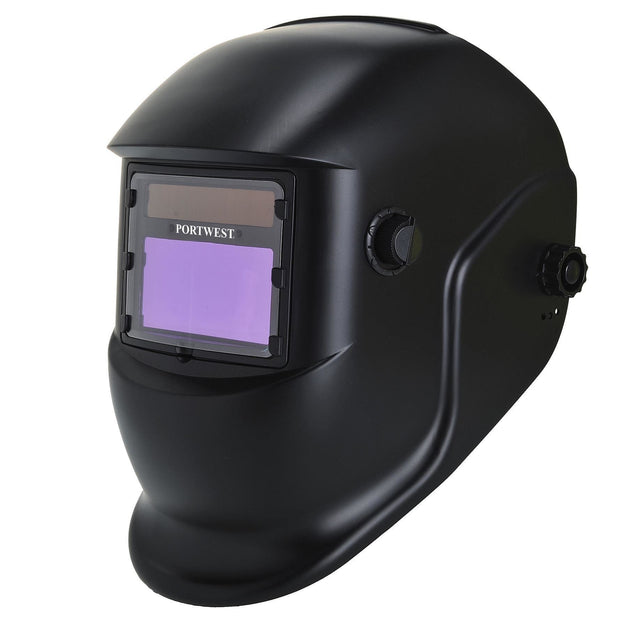 Portwest BizWeld Plus Welding Helmet Black One Size  PW65