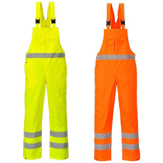 Portwest Hi-Vis Bib & Brace - Unlined S388