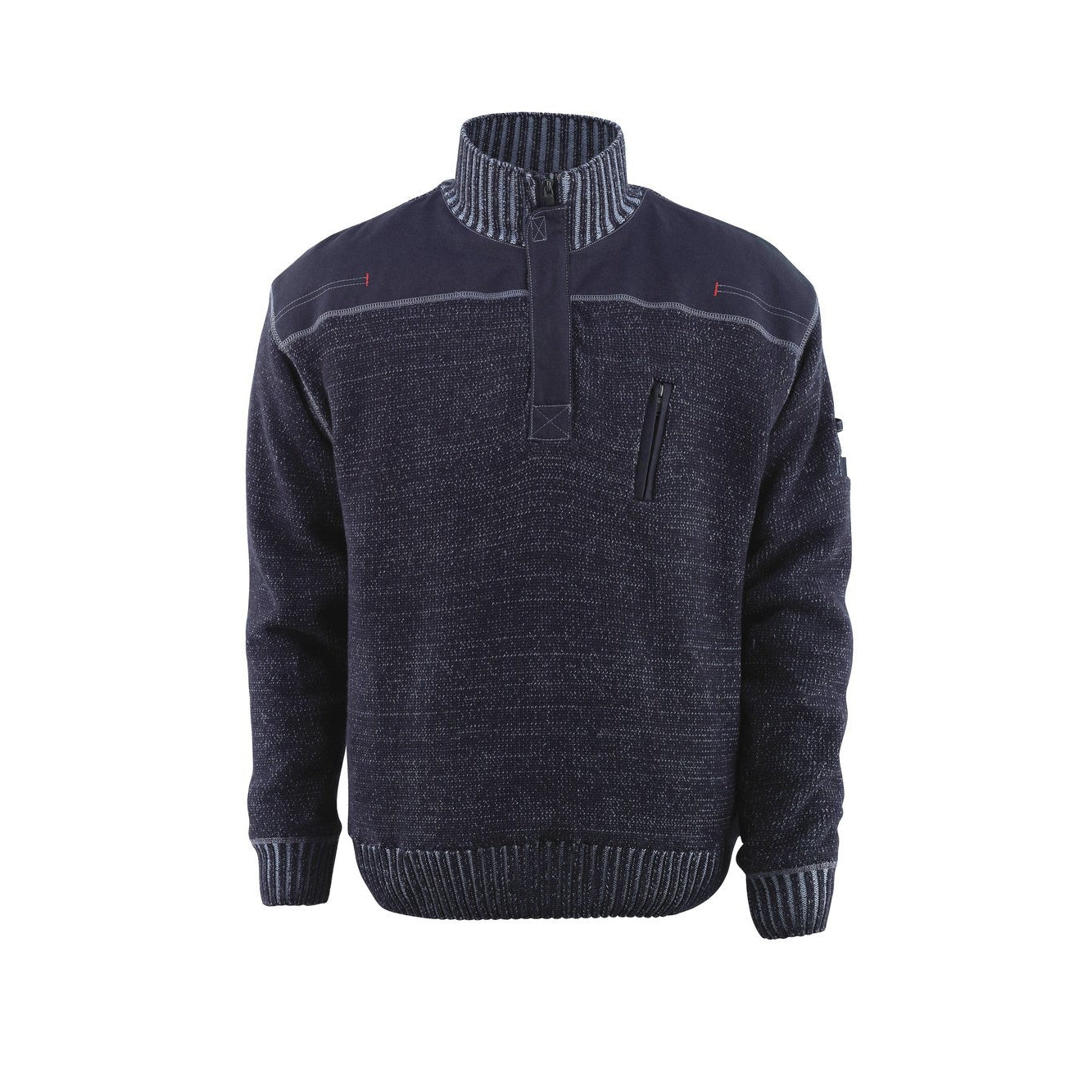 Mascot Naxos Frontline Knitted Jumper With Half Zip