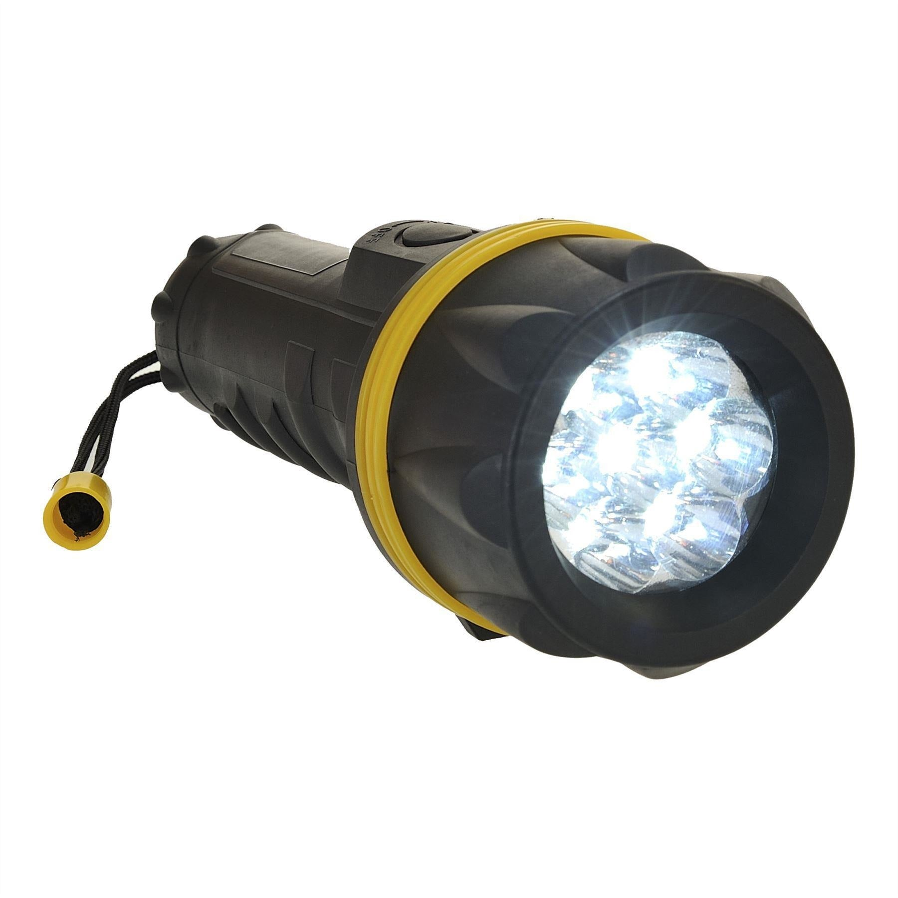 Portwest 7 L.E.D Rubber Torch