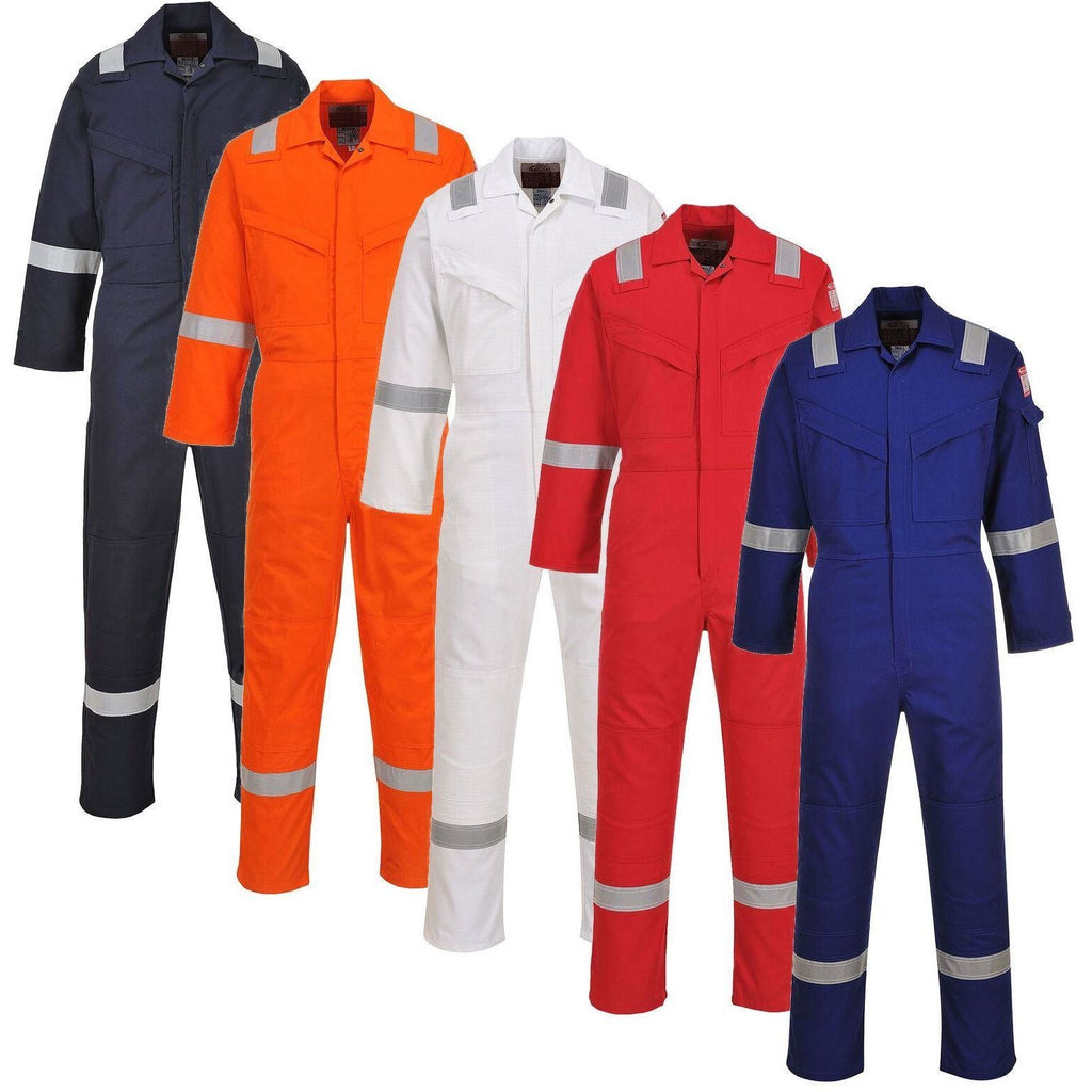 Portwest Flame Resistant Anti-Static Coverall 350g FR50