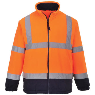 Portwest Hi-Vis Two Tone Fleece F301