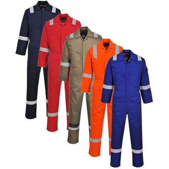 Portwest Flame Resistant Super Light Weight Anti-Static Coverall 210g