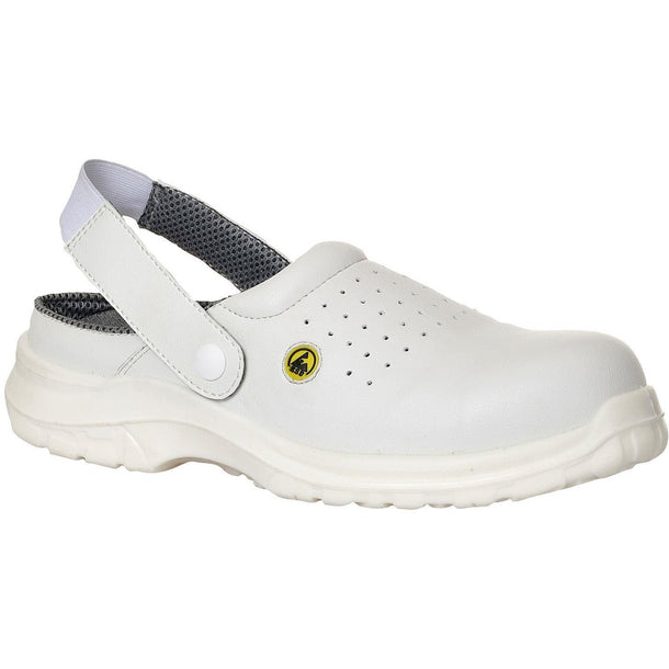 Portwest Compositelite ESD Perforated Safety Clog SB AE FC03