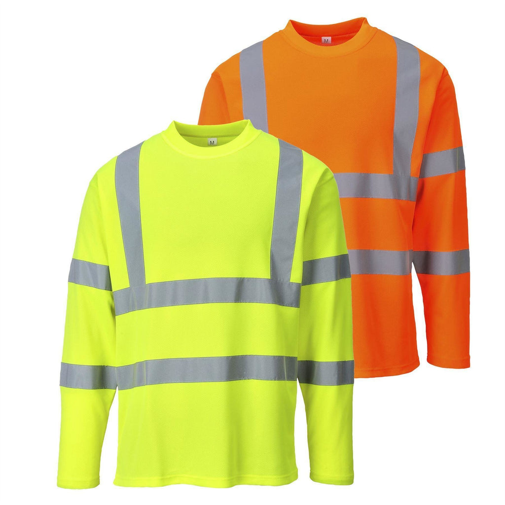 Portwest Hi Vis Long Sleeved T-shirt S278