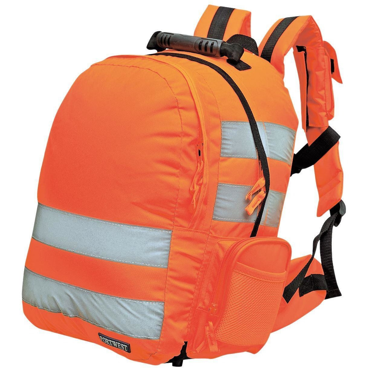 Portwest Quick Release Hi-Vis Rucksack Orange 25 Litres  B904