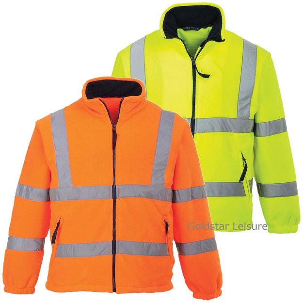 Portwest Hi-Vis Mesh Lined Fleece F300