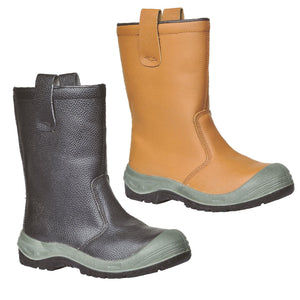 Portwest Steelite Rigger Boot S1P CI (With scuff cap)