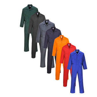 Portwest Liverpool Zip Coverall C813