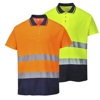 Portwest Two Tone Cotton Comfort Polo S174
