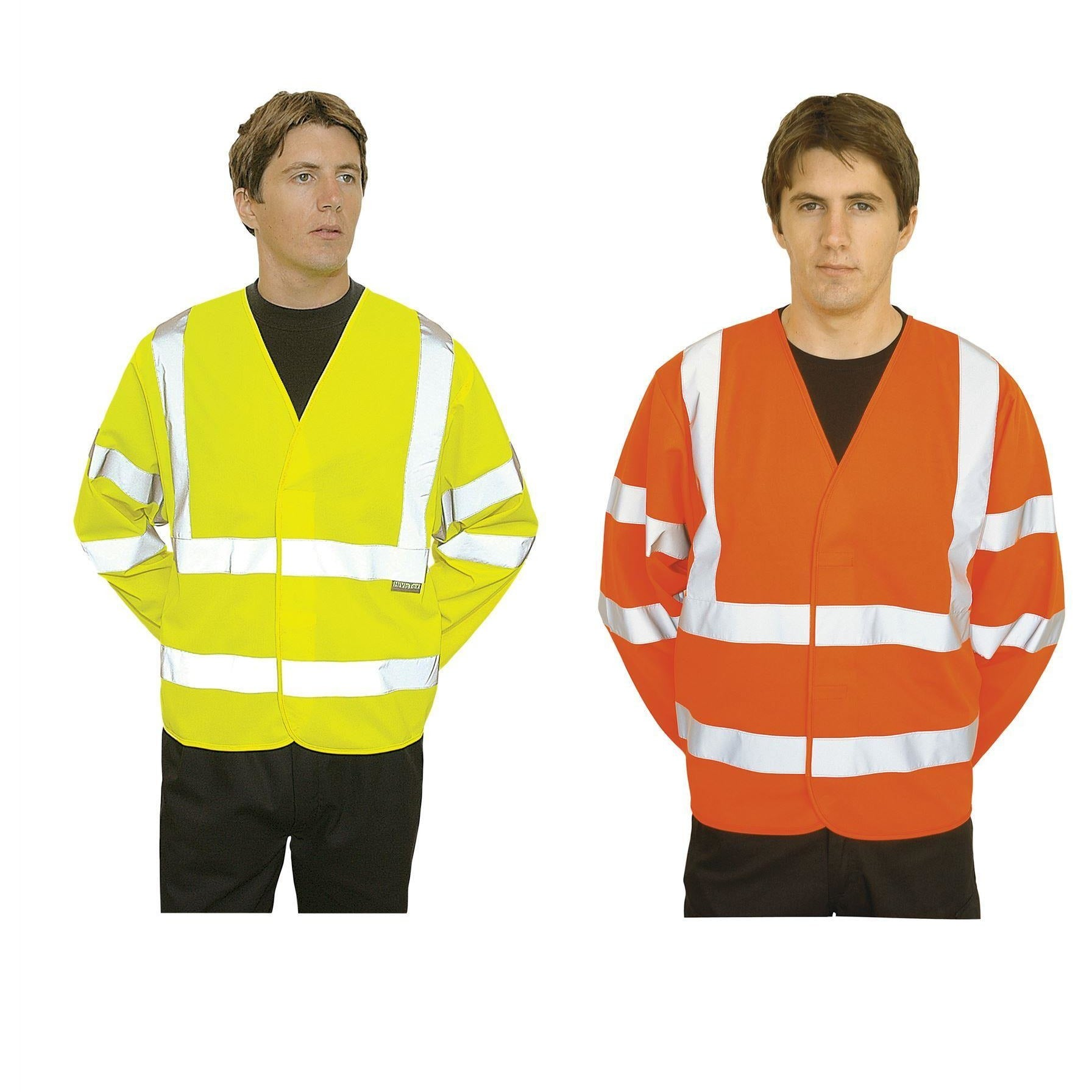 Portwest Hi-Vis Two Band & Brace Jacket C473
