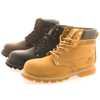 Groundwork Mens Adult Safety Boot with mid plate