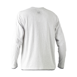 Bisley  Flex & Move Long Sleeved Cotton Henley T-Shirt