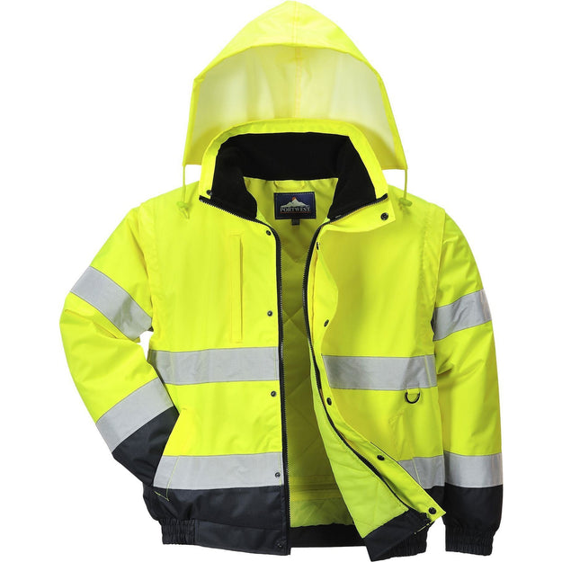 Portwest HI-Vis 2-in-1 Jacket C468