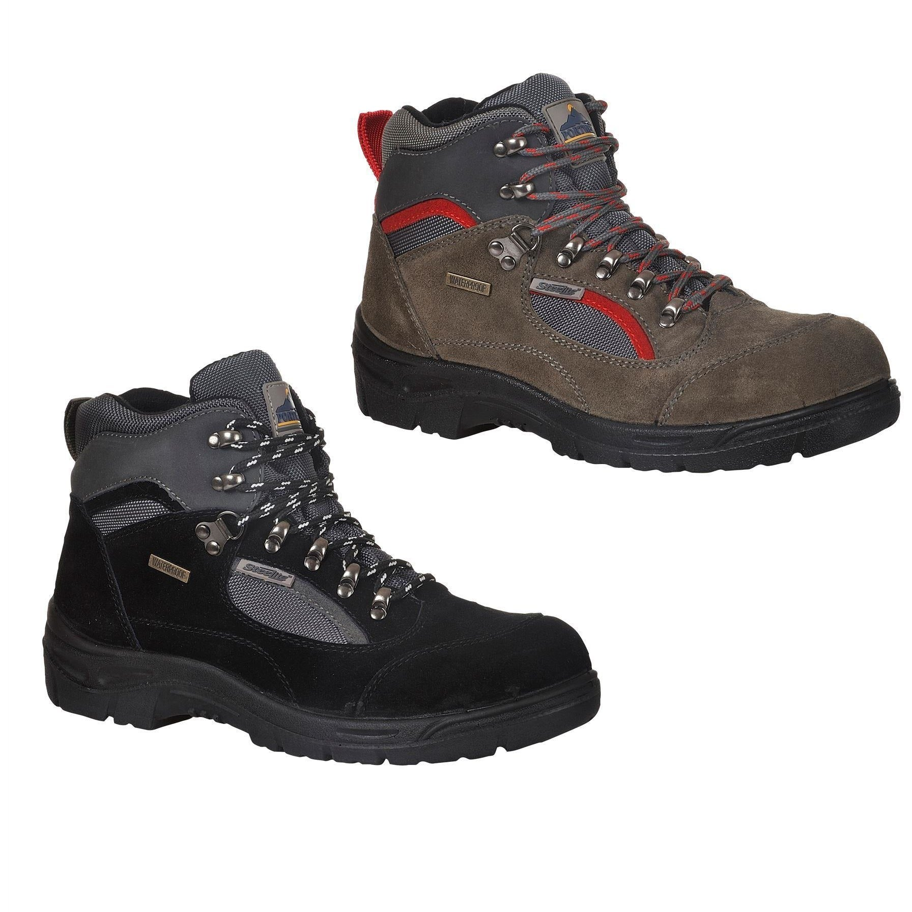 4bf327ebd88e66 Portwest Steelite All Weather Hiker Boot S3 WR FW66 - GS Workwear