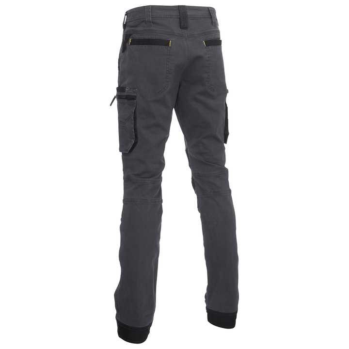 Bisley - Flex & Move Stretch Utility Cargo Trousers With Kevlarâ® Knee Pad Pockets