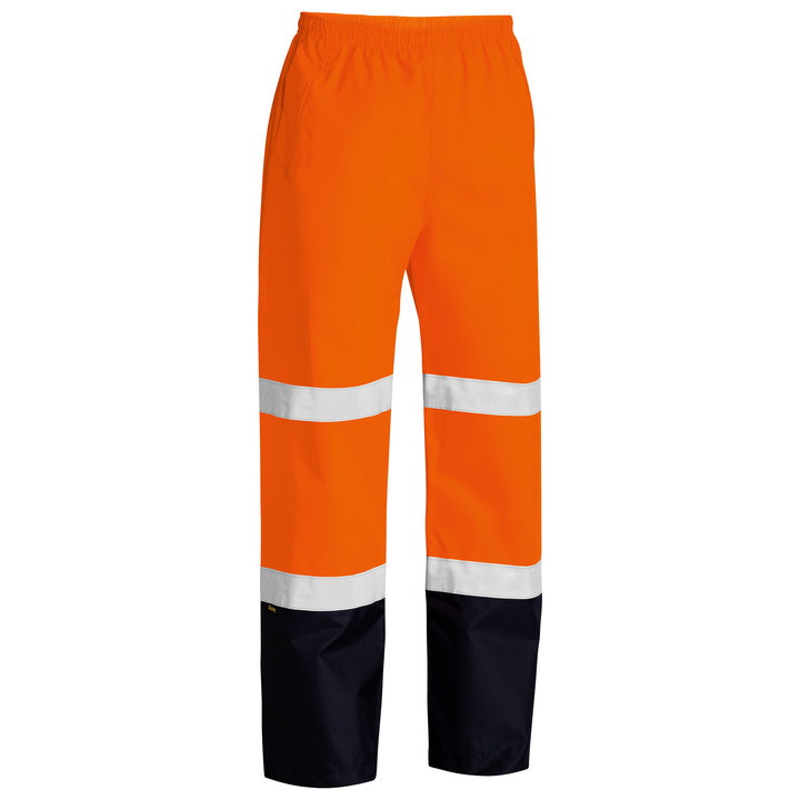 Bisley Taped Hi Vis Rain Shell Trousers