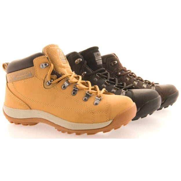 Groundwork Mens steel toe cap safety boot