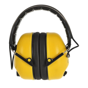 Portwest Electronic Ear Muff Yellow One Size  PW45