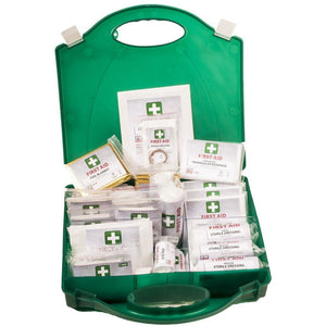 Portwest PW Workplace First Aid Kit 100 Green   FA12