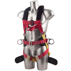 Portwest Portwest 3 Point Harness Comfort Plus Red One Size  FP18
