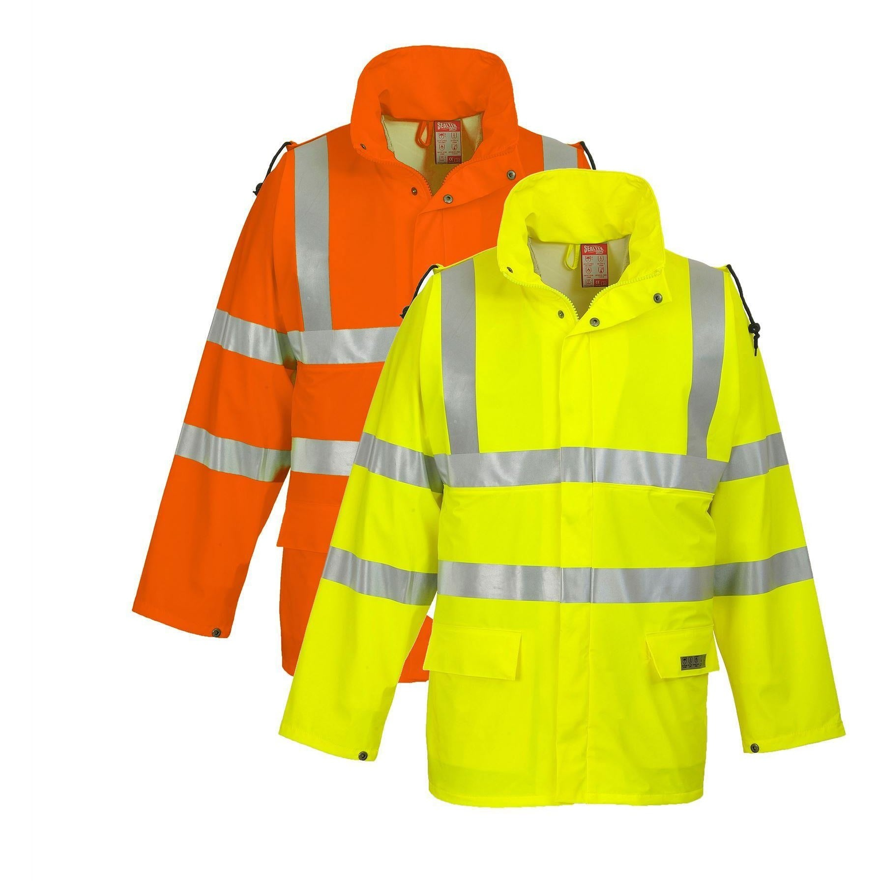 Portwest Sealtex Flame Hi Vis Jacket FR41