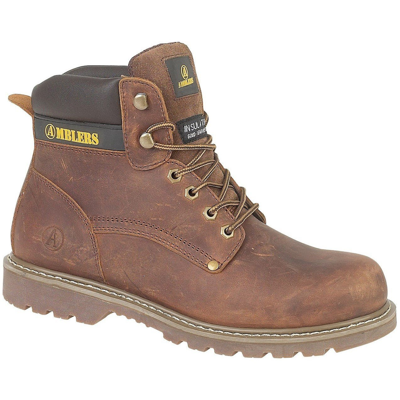 Amblers Dorking Lace Up Boots