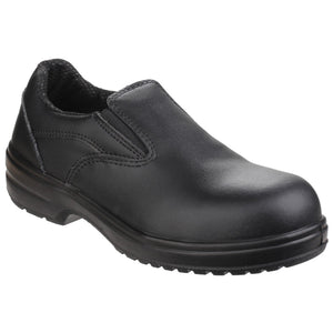 Amblers Ladies Slip On Safety Shoes
