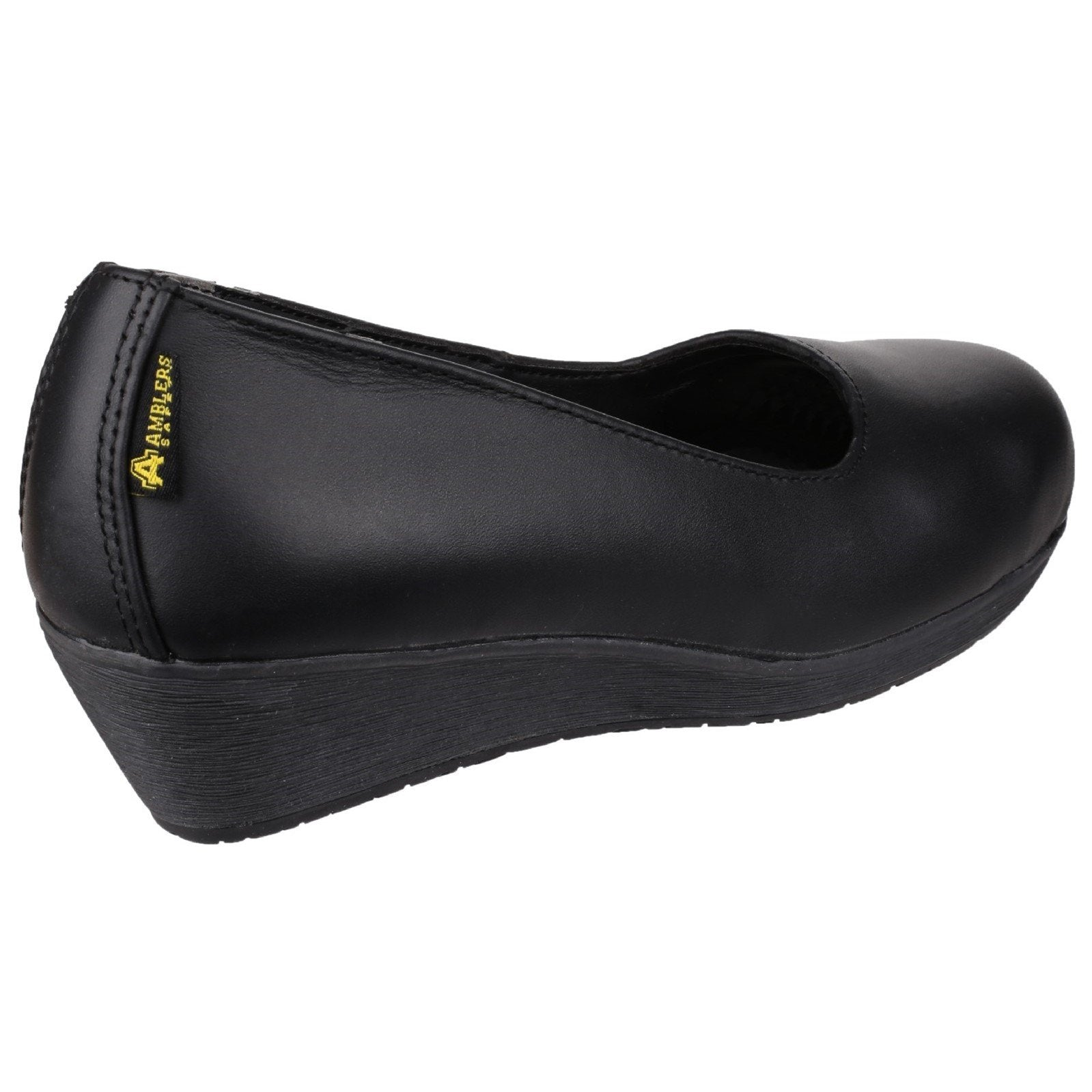 Amblers Ladies Safety Court Shoes