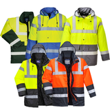 Portwest Hi-Vis Contrast Traffic Jacket S466